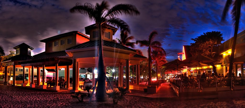 Summer evening,lauderdale by the sea