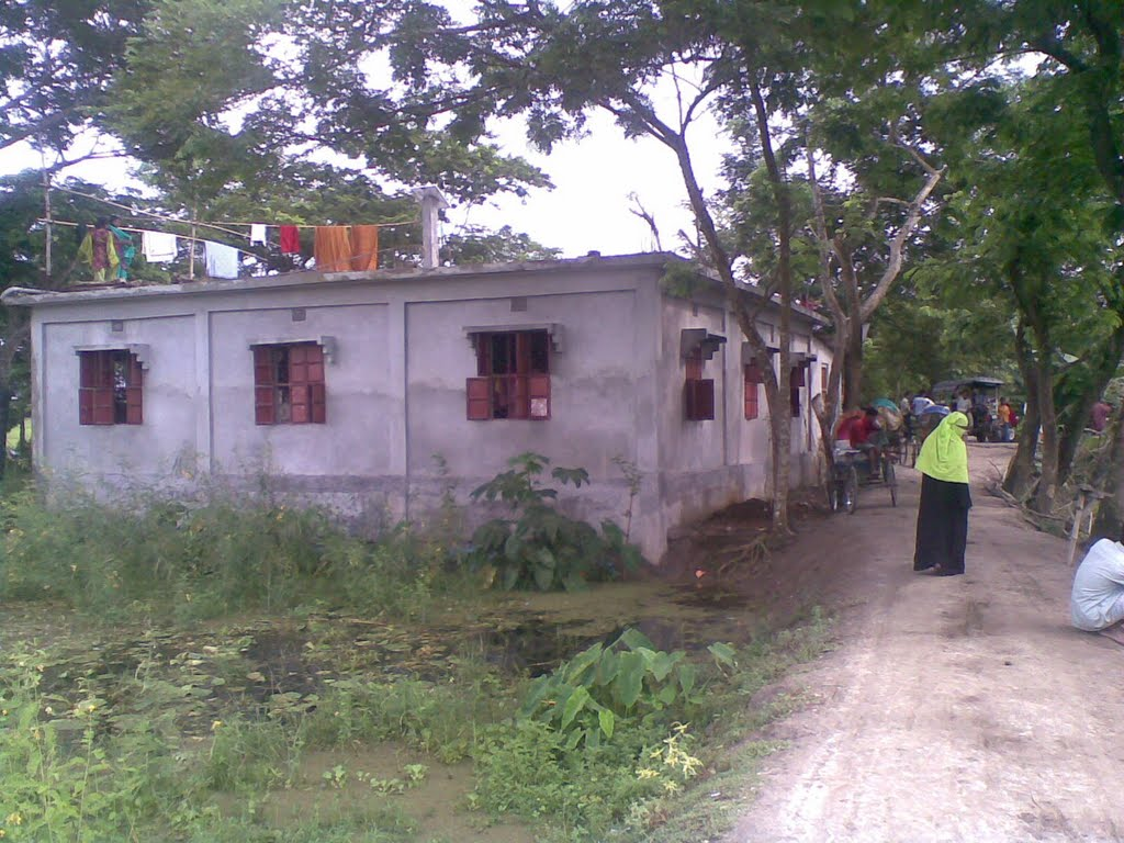 A House at Akpool, Matlab by M. Shahjahan