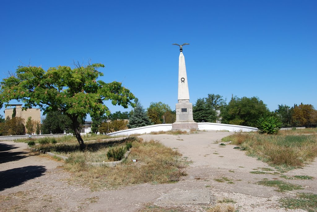 The Great Redan in Sevastopol - Crimean War Site