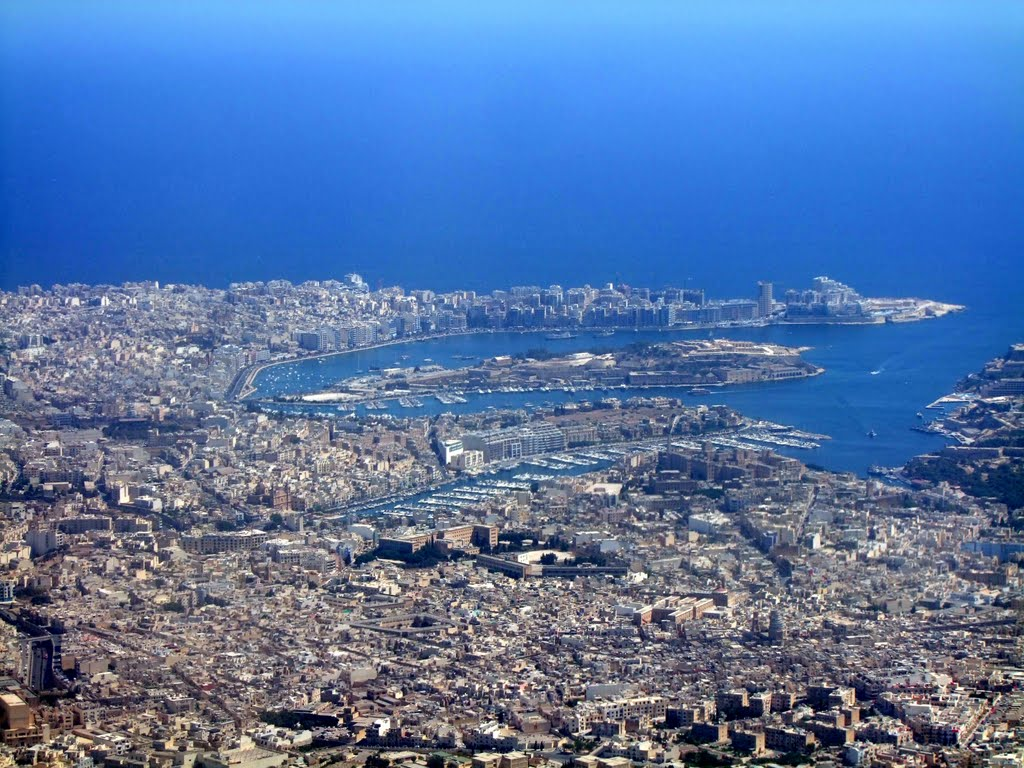 Sliema from the air