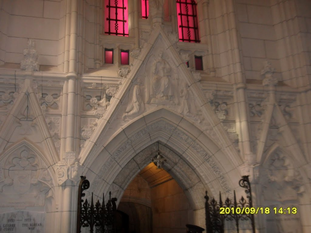 Entrance to Memorial Chamber