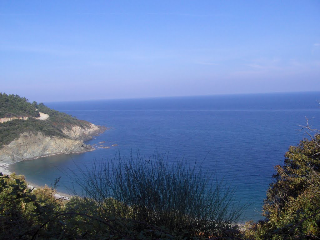 Aegean Sea - View from Athos