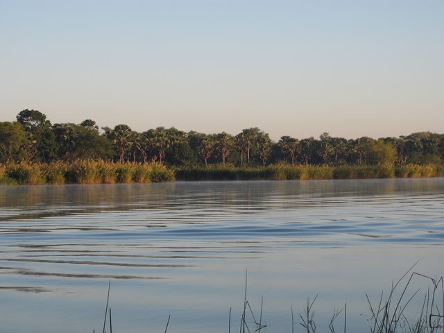 The Shire river, Liwonde National Park, Malawi
