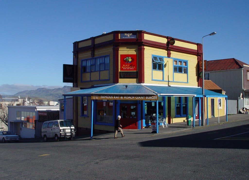 Rat and Roach Bar and Grill, Lyttelton.