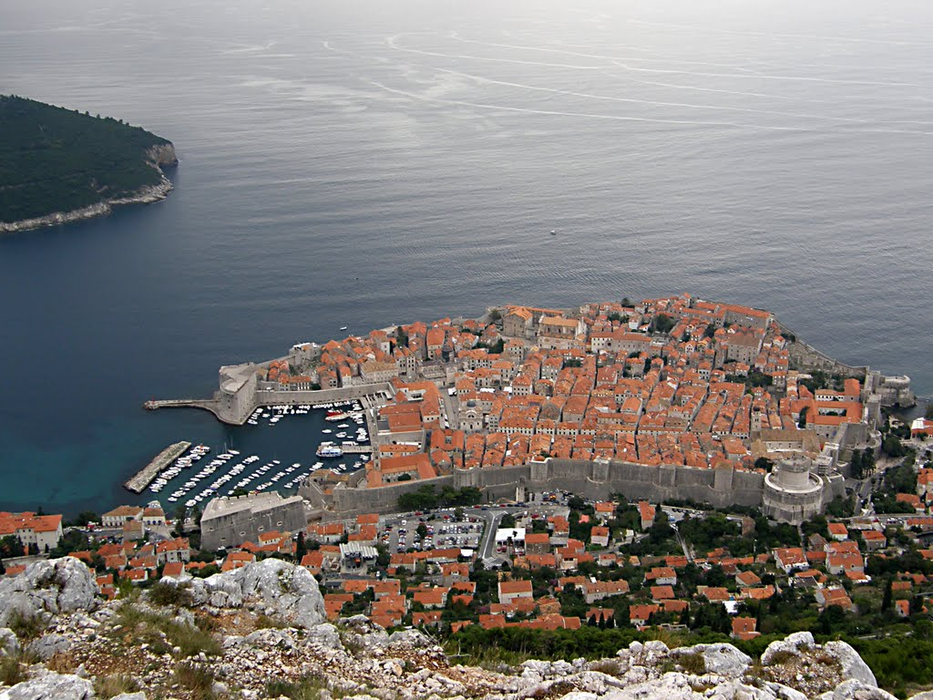 Dubrovnik from Fort Syd