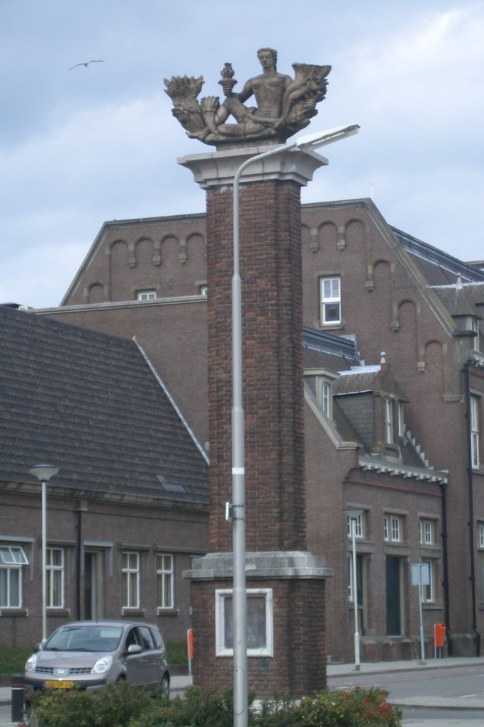 Monument near the Station in Roosendaal