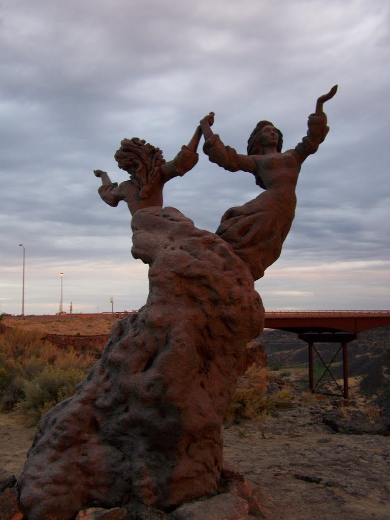 The Twins Statue