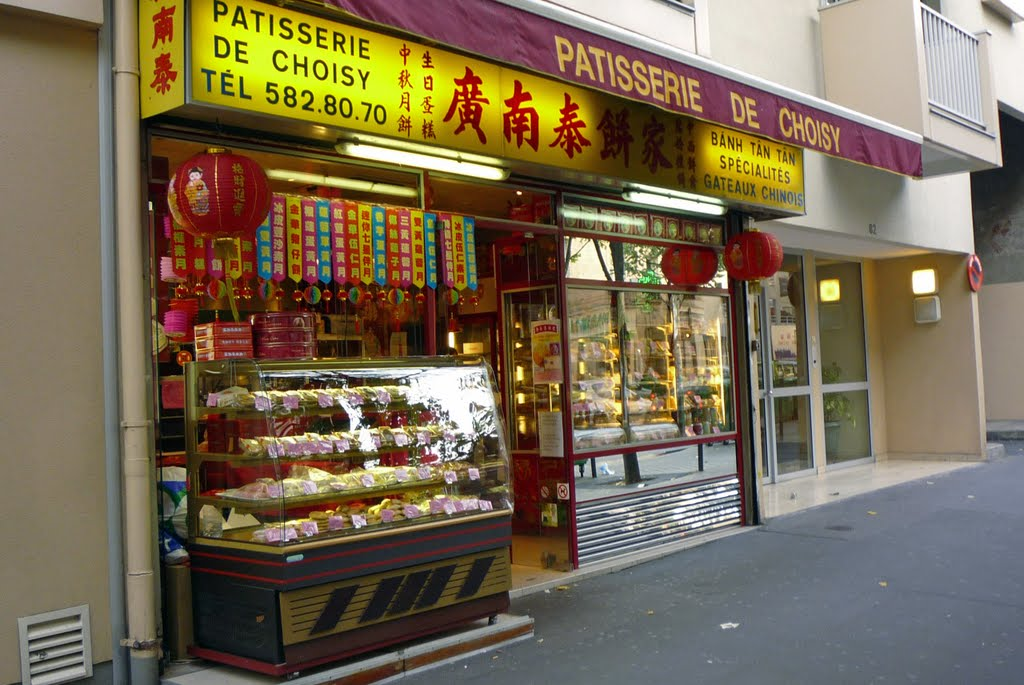 Avenue de Choisy, Chinatown, Paris