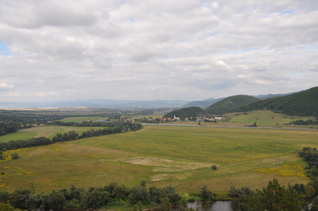view on Hron Valley to Zair