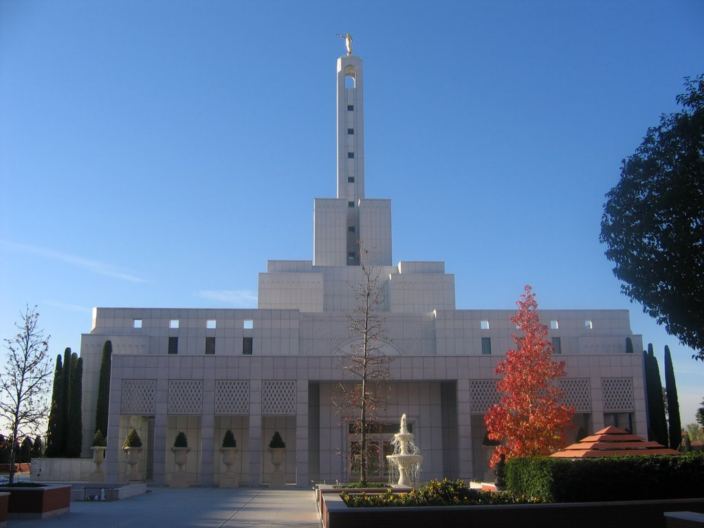 LDS Temple by day