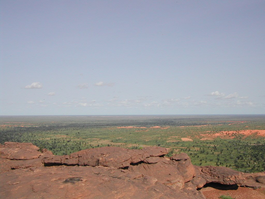 view over pays Dogon