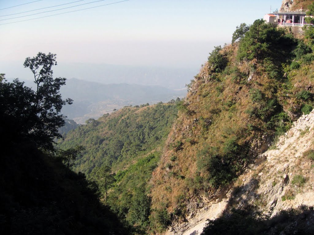Scenary on the route of Vaishnodevi