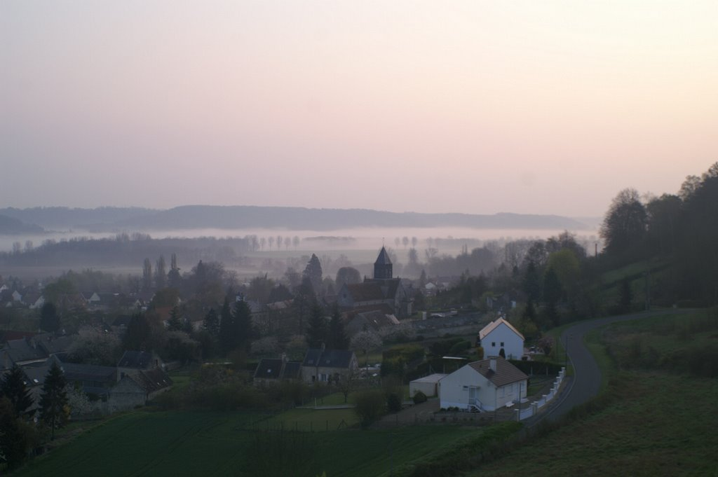 Valley of the Aisne, looking towards Fontenoy