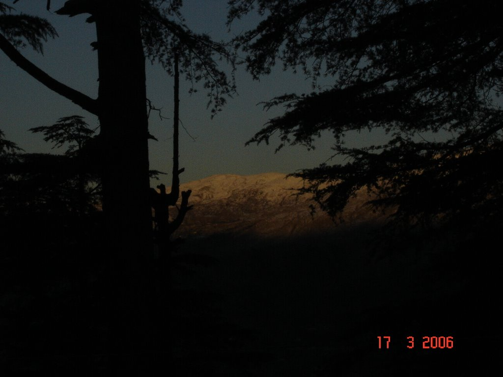 View from Patnitop at Dawn