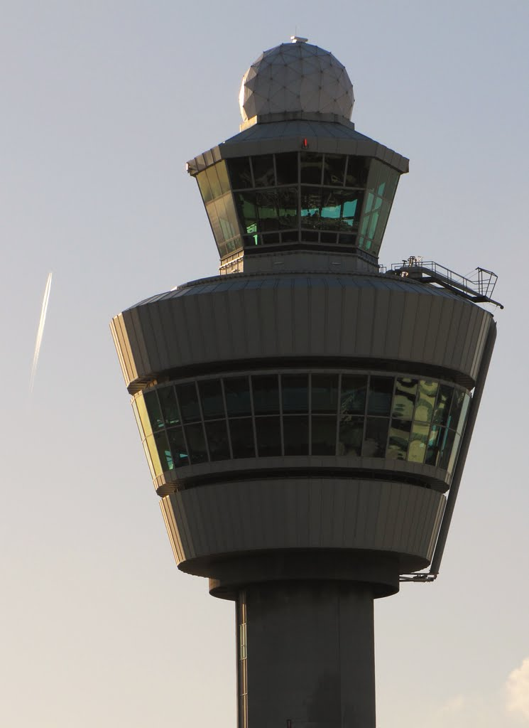 Control tower - Amsterdam-Schiphol (AMS), The Netherlands.