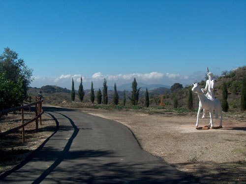 Don Quijote in Andalusien