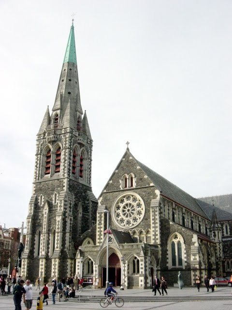 Christ Church Cathedral; Christchurch, New Zealand