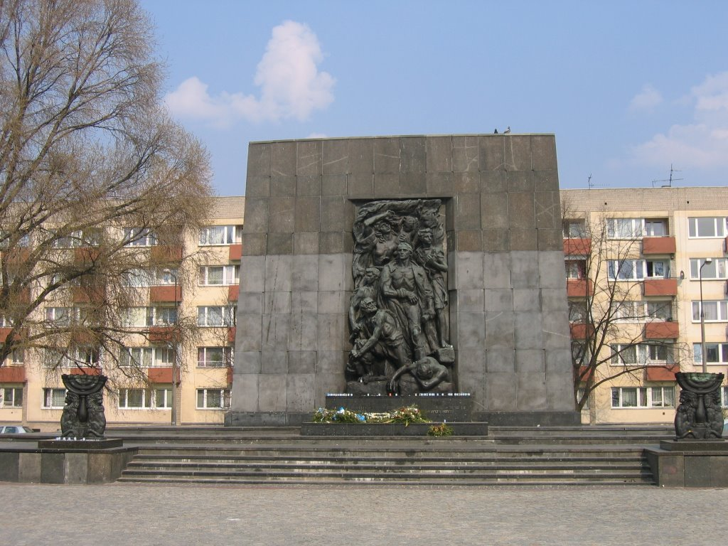 Monument of Hereos of the Ghetto