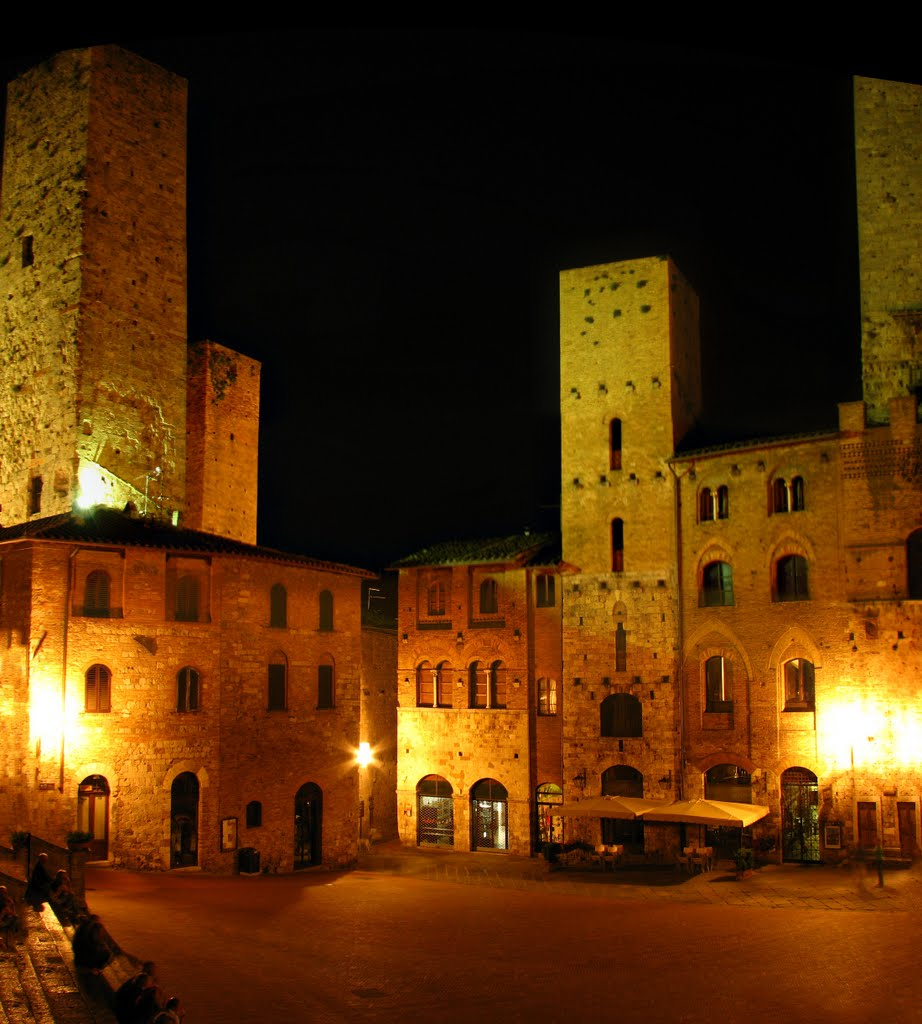 San Gimignano by night