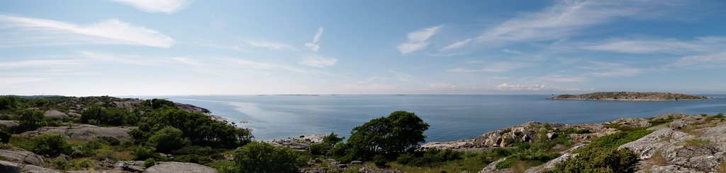 Panorama to the north-west from Hamnö