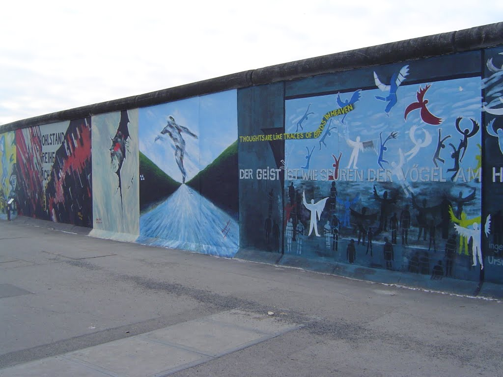Paintings on the Berlin Wall