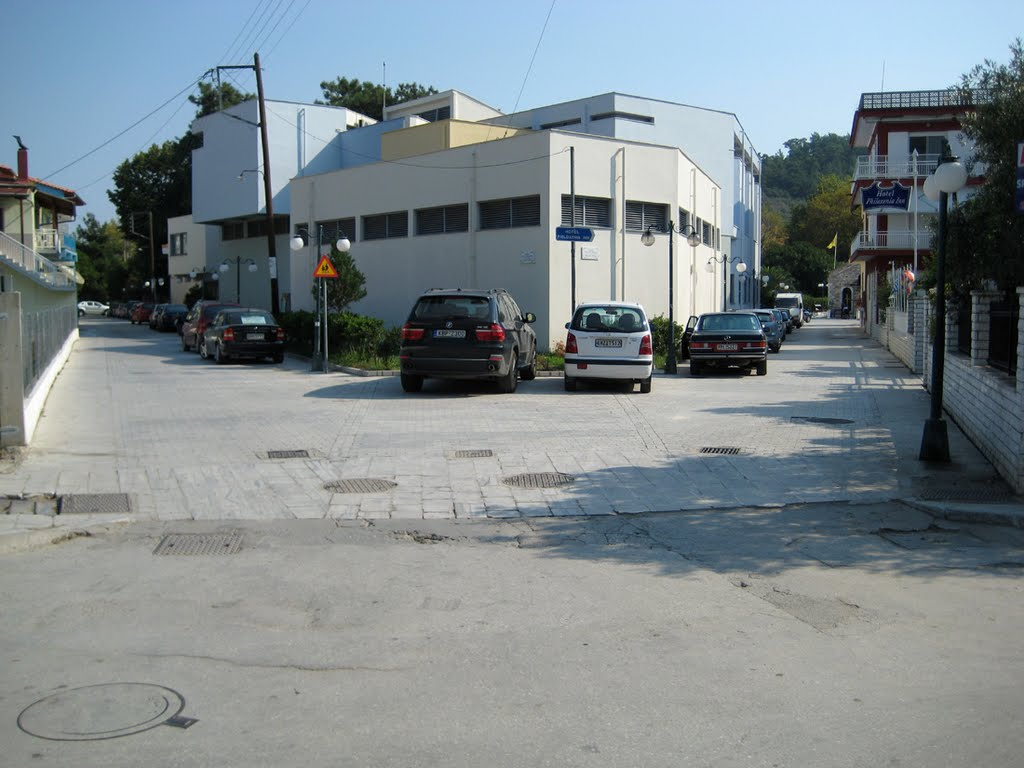 Limenas - Intersection of three streets - 2