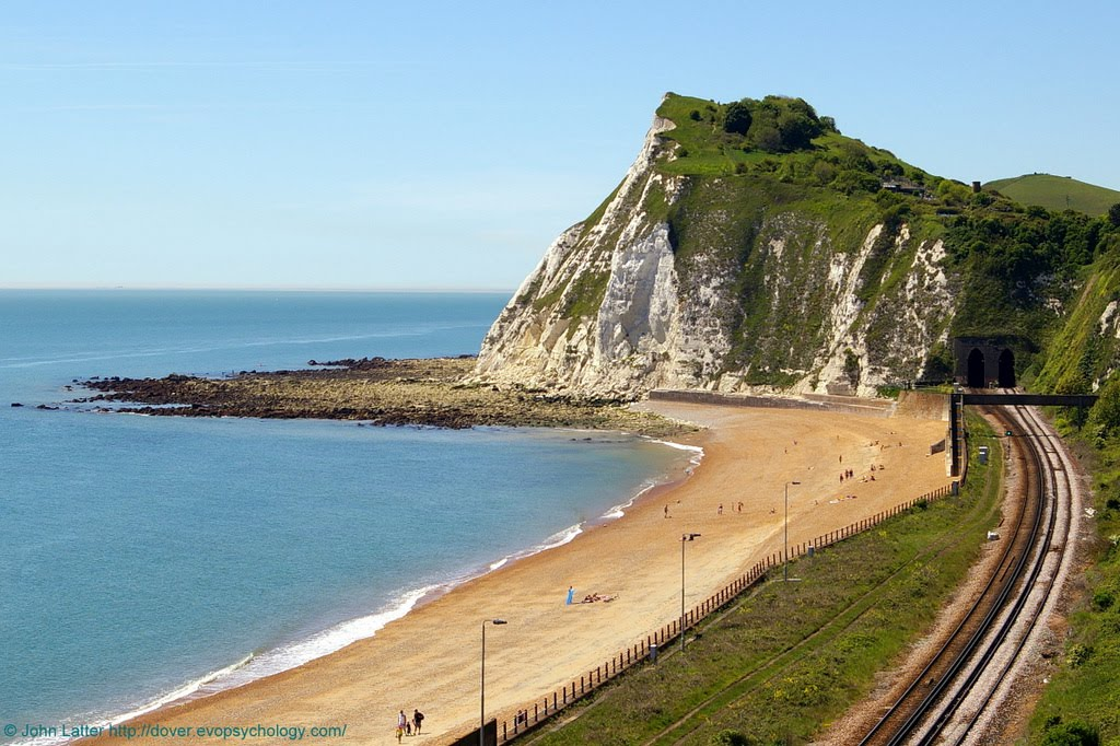 King Lear and Shakespeare Cliff, White Cliffs of Dover, Kent, United Kingdom