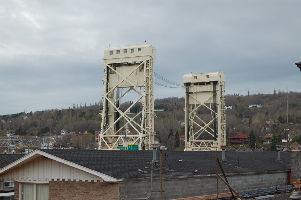 The Portage Lift Bridge