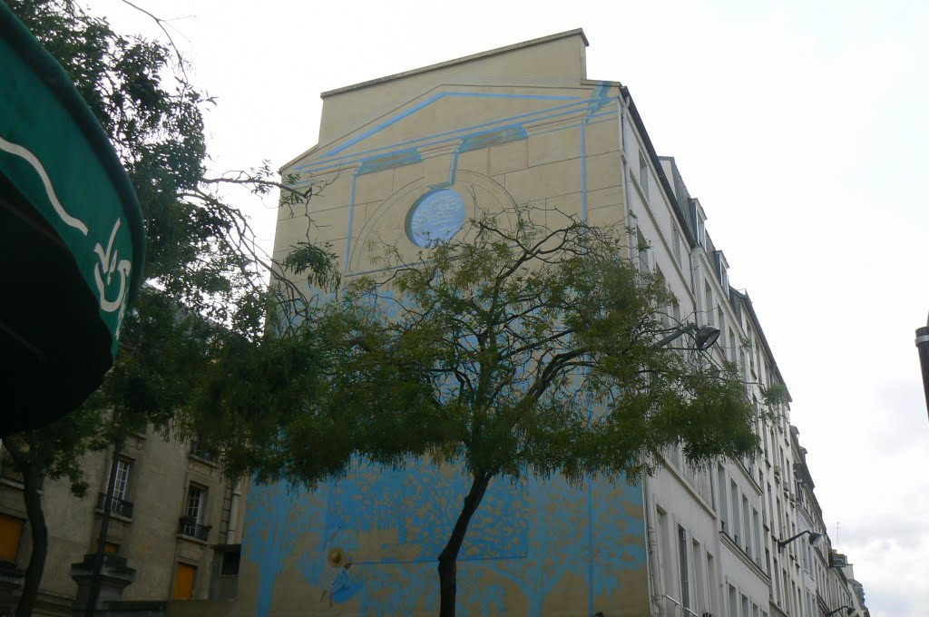 Paris - fresque murale