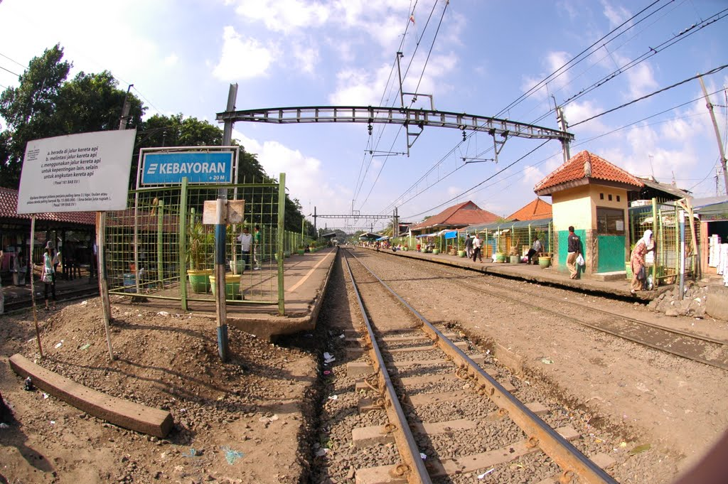 Station of Kebayoran Lama