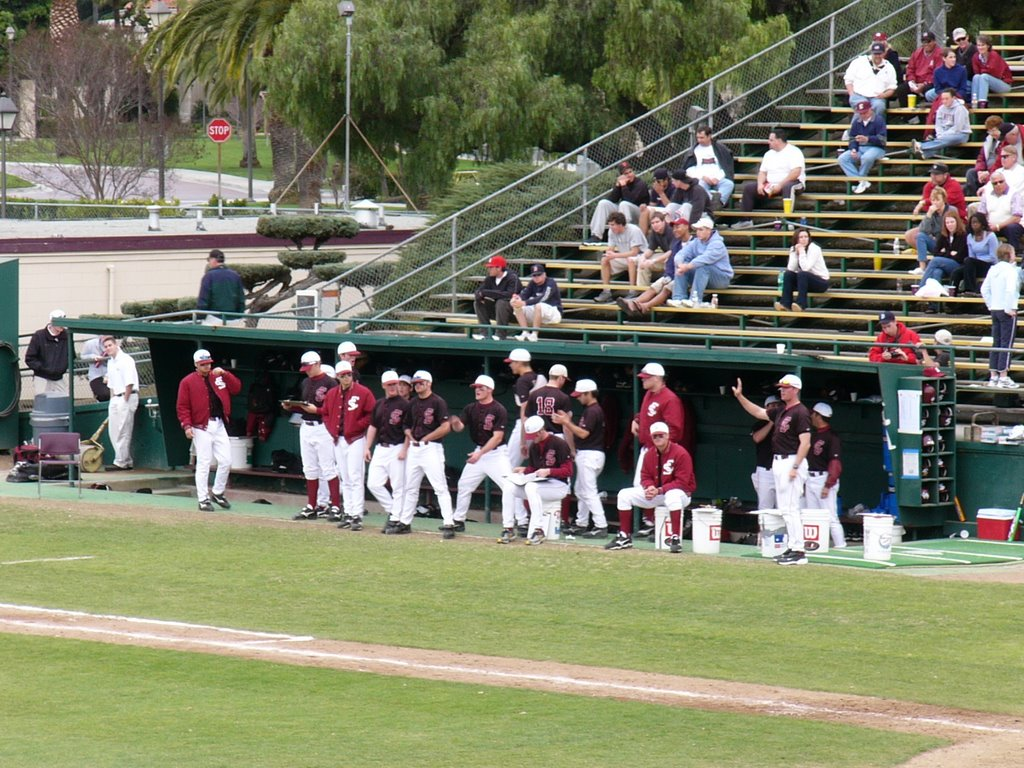 Santa Clara baseball - old stadium