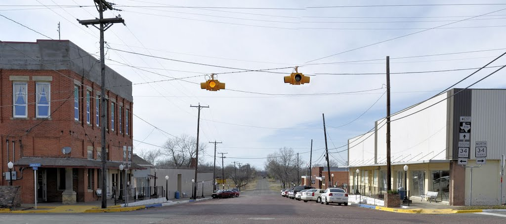 Downtown Wolfe City West