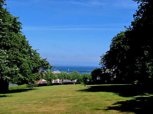 View from Candie Gardens, St Peter Port, Guernsey
