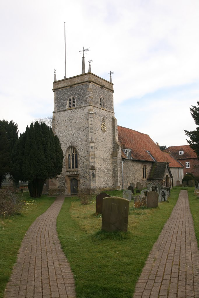 Bucklebury. The Parish Church of St Mary the Virgin
