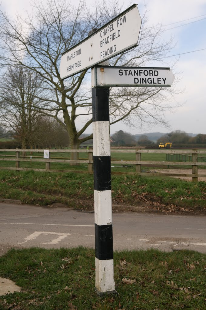 Road Sign in Bucklebury