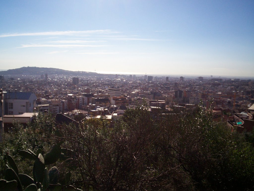 barcelona view from parc guell3
