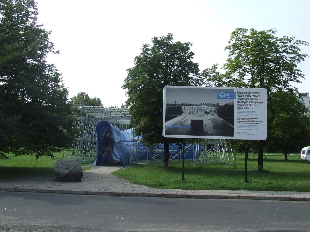 The new museum to be of Polish Jews