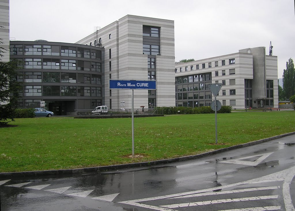 CERN, Route Marie Curie
