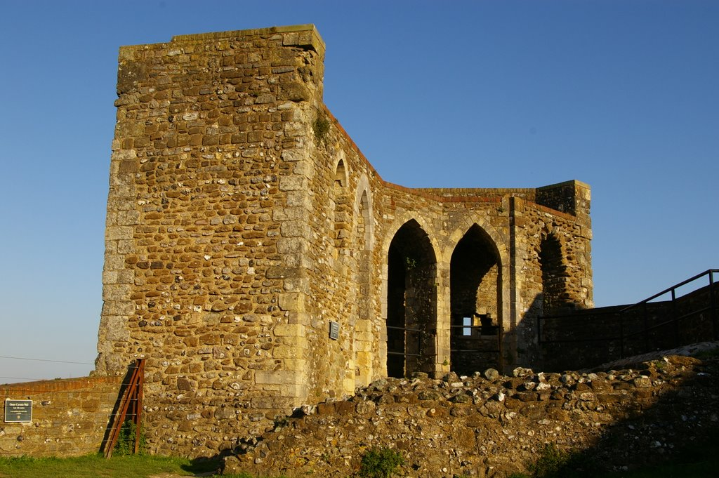 Medieval Avranches Tower for Crossbows, Dover Castle, Kent, United Kingdom