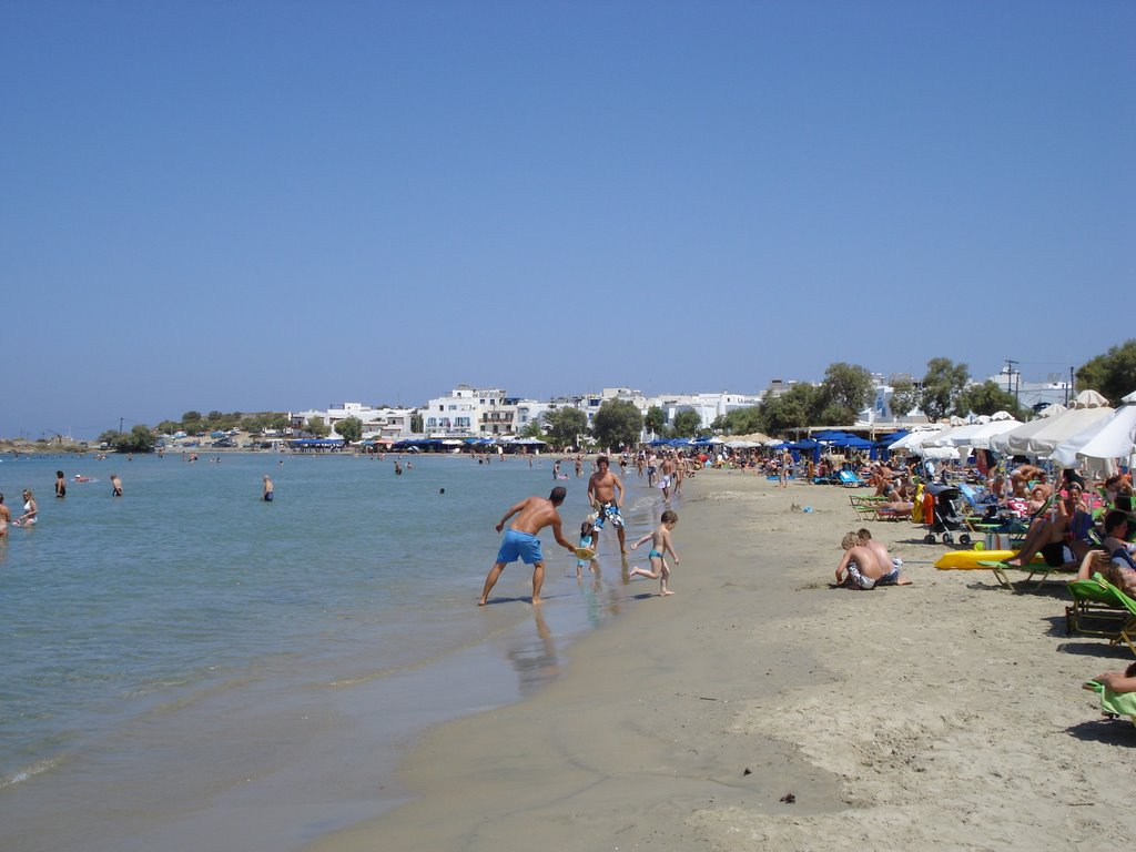 Naxos St George Beach