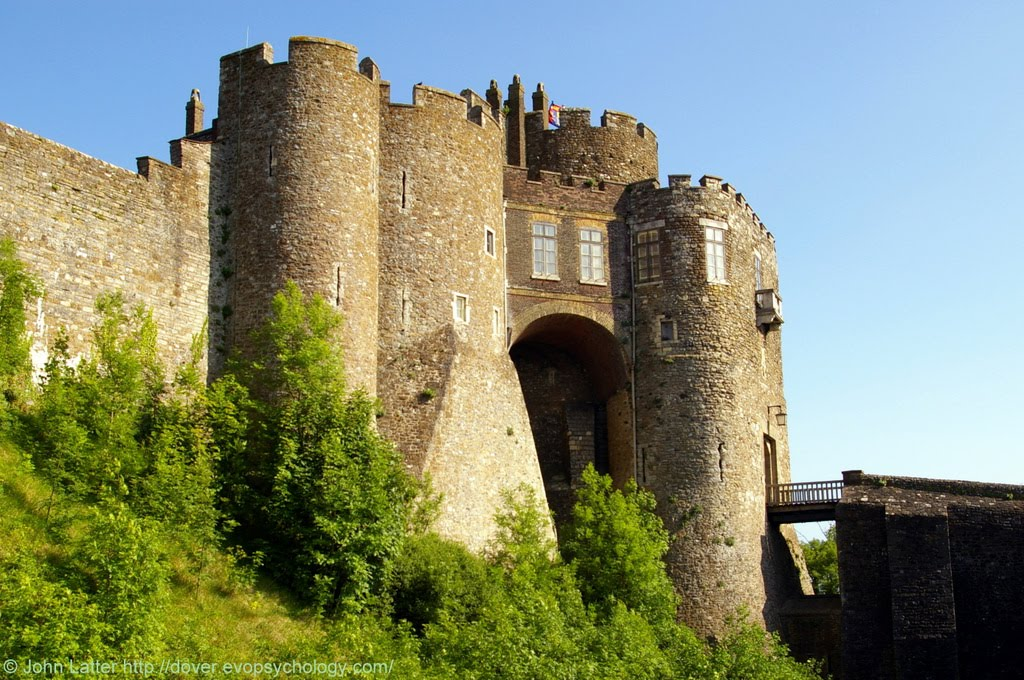 Constable's Gateway, Entrance to the Key of the Kingdom, Dover Castle, Kent, UK