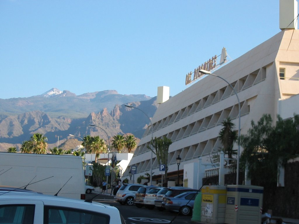 Teide from hotel Los Pyramides