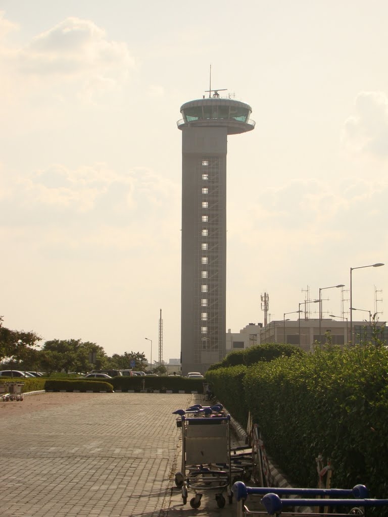 Control Tower of the Bangalore International Airport