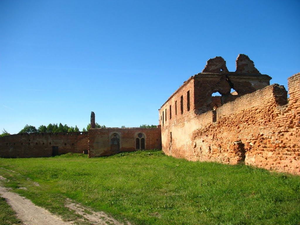 Ruins of Monastery of Carthusians in Biaroza