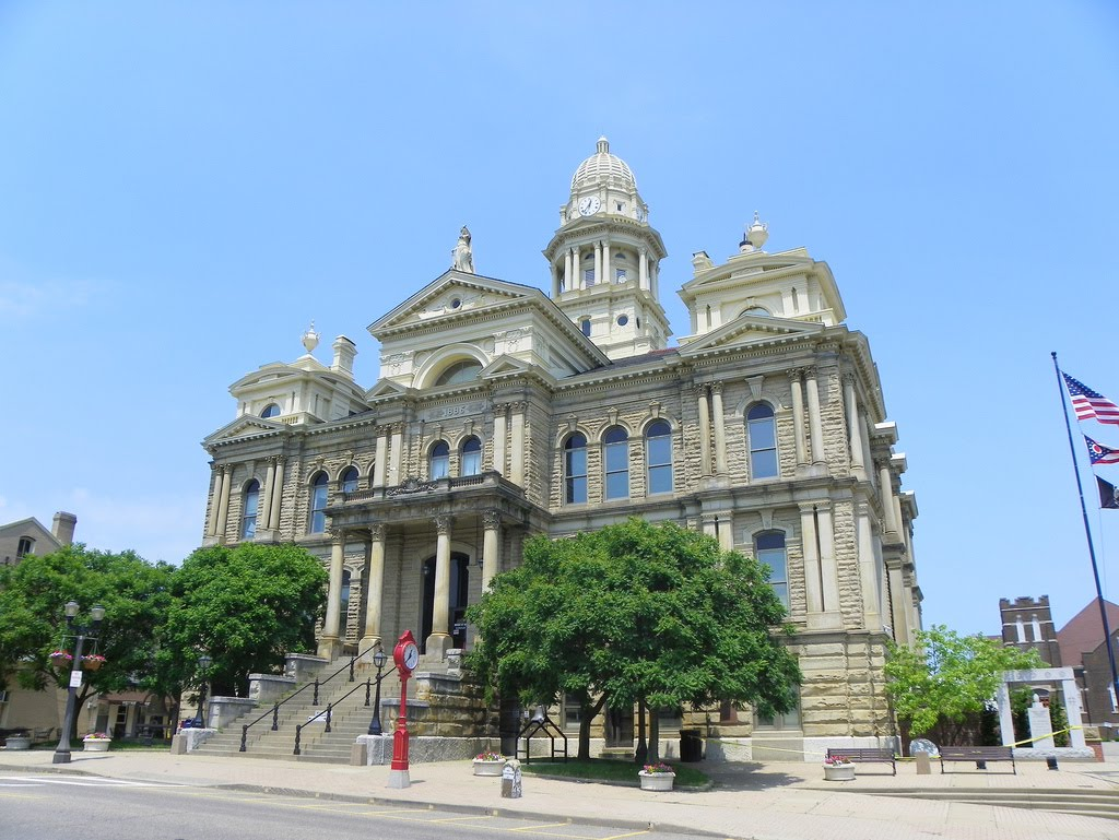 Belmont County Courthouse, St. Clairsville, Ohio