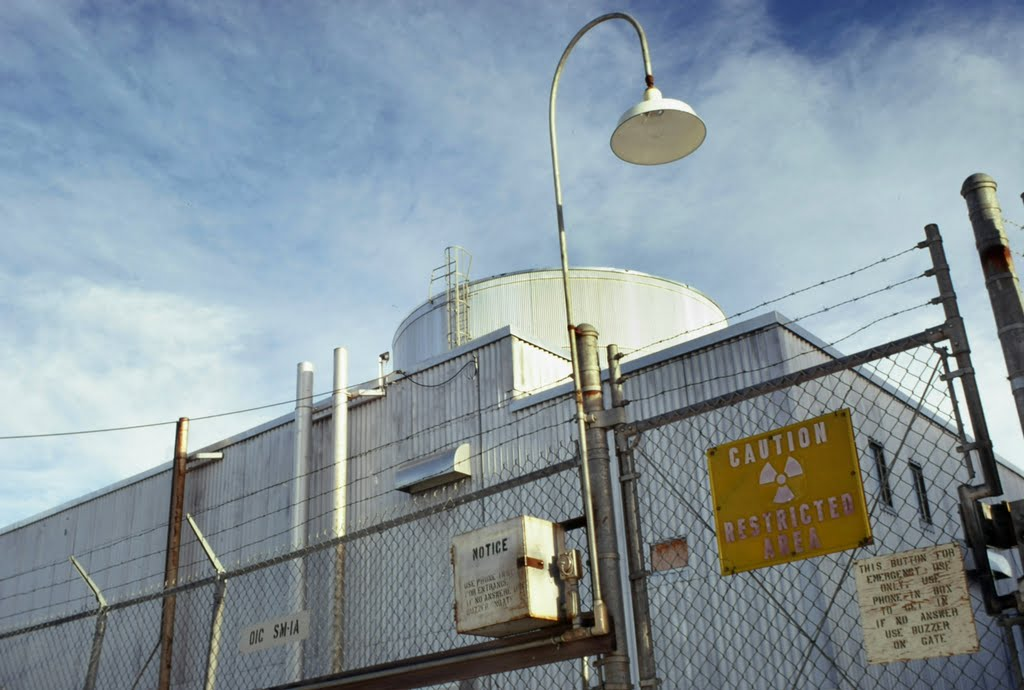 Sm 1a Nuclear Reactor Fort Greely Alaska Pat Hathaway Photo 1970