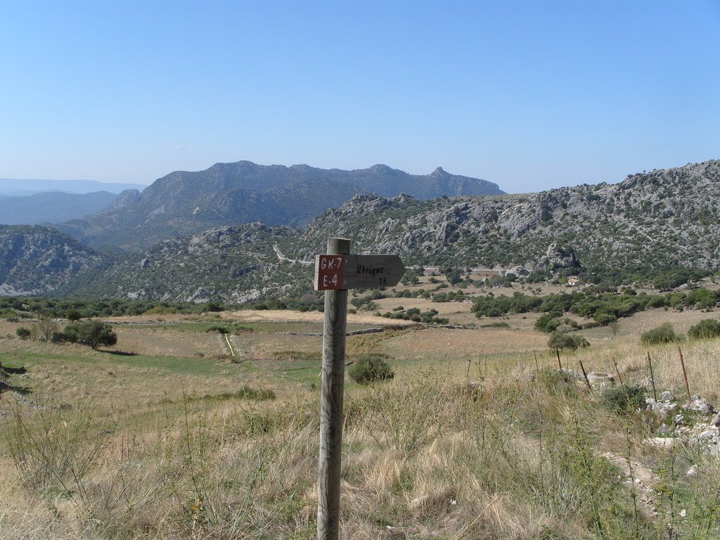historical Roman road from Benaocaz to Ubrique