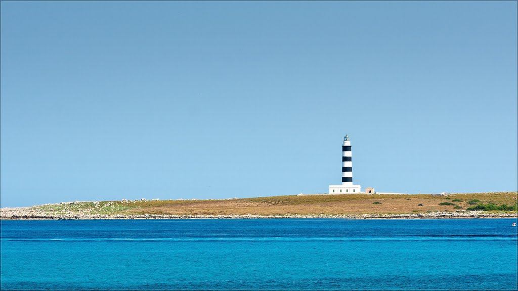 Lighthouse at Punta Prima, Menorca, Spain