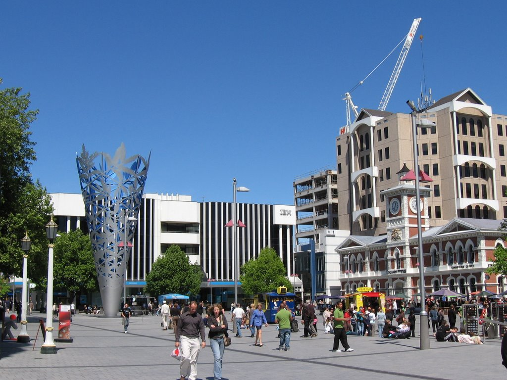 Cathedral Square - Christchurch