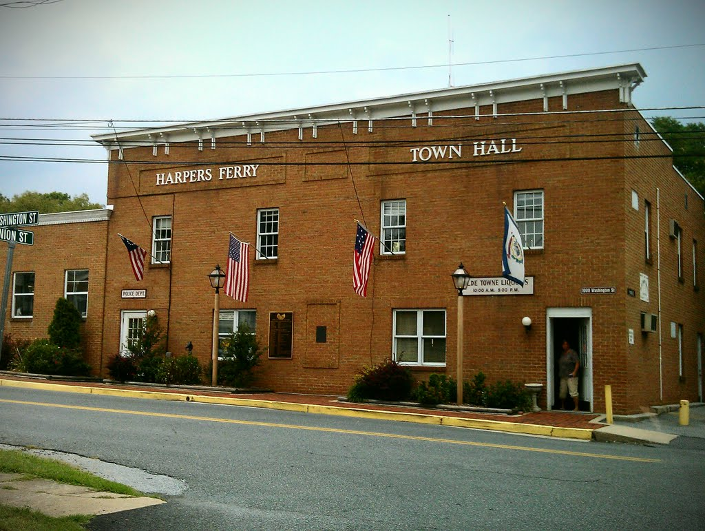 Harpers Ferry Town Hall